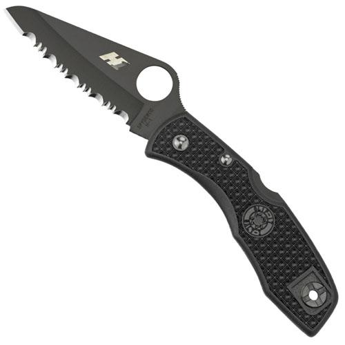 Spyderco Salt I Lightweight Spyder Edge Folding Knife