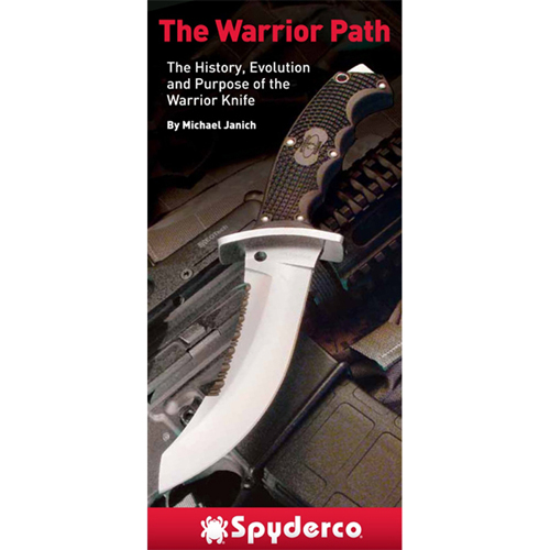 Spyderco Warrior Booklet Fixed Blade Knife