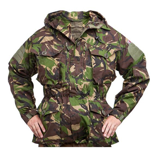 British Dpm Camo Smock Used Jacket