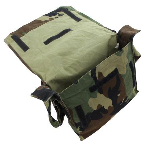 Croatian Surplus Camo Canvas Shoulder Bag