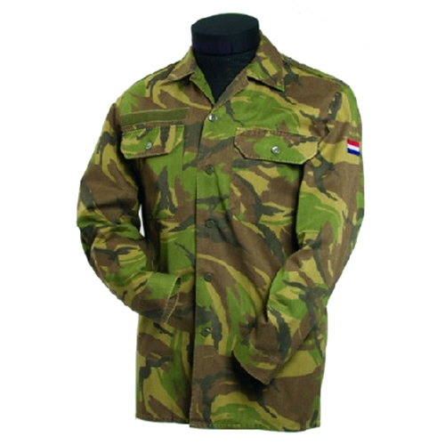 Dutch Camo Long Sleeve Field Shirt Used