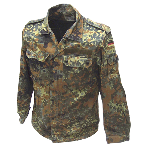 German Flectar Camo Field Used Shirt