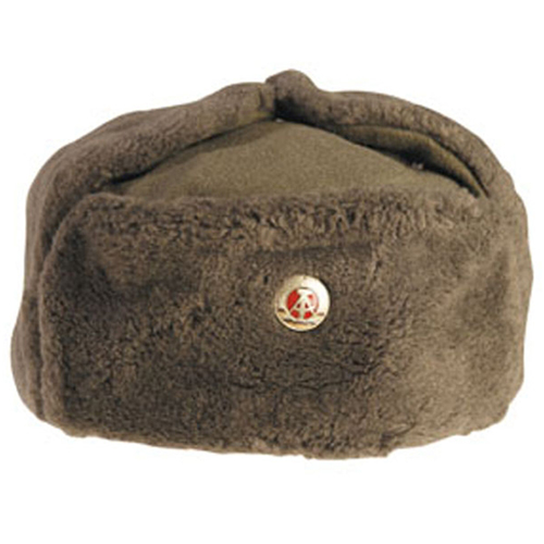 East German Army Em Winter Hat