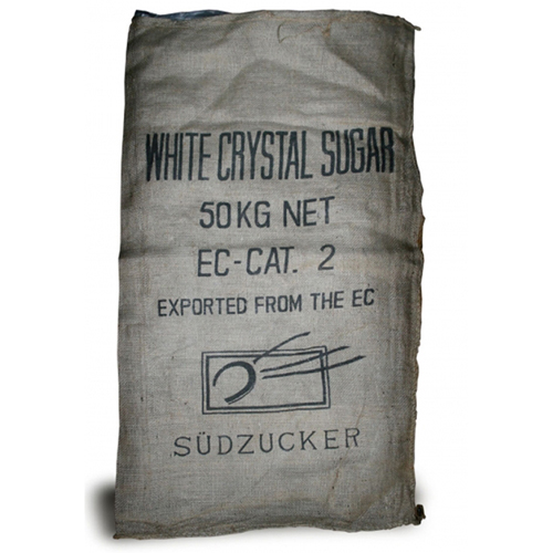 Surplus German Burlap Sudzucker Bag