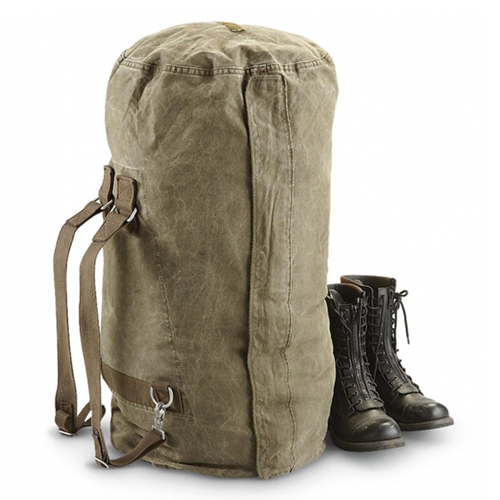 Surplus German Side Zipper Duffle Bag