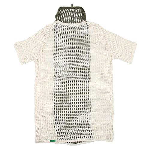 Norwegian Military M58 White/OD Net Shirt