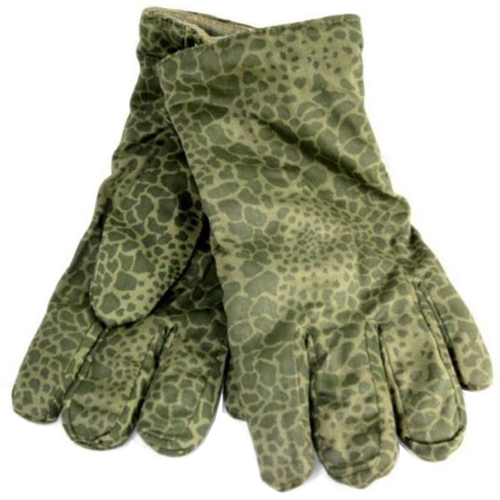 Polish Army Leopard Camo Gloves