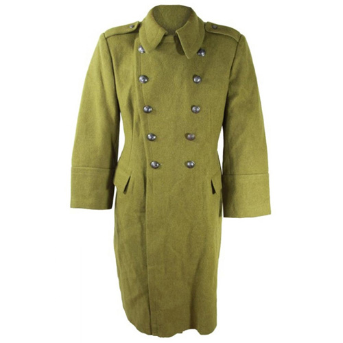 Romanian Army Surplus Long Wool Parka