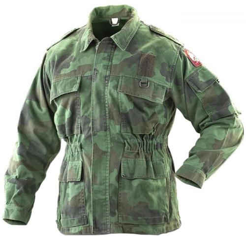 Serbian Woodland Jacket Used