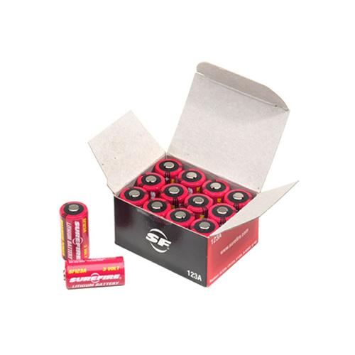Box Of 12 Surefire 123A Lithium Batteries