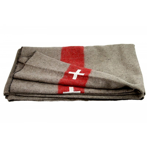 Swiss Link Military Surplus Swiss Army Blanket