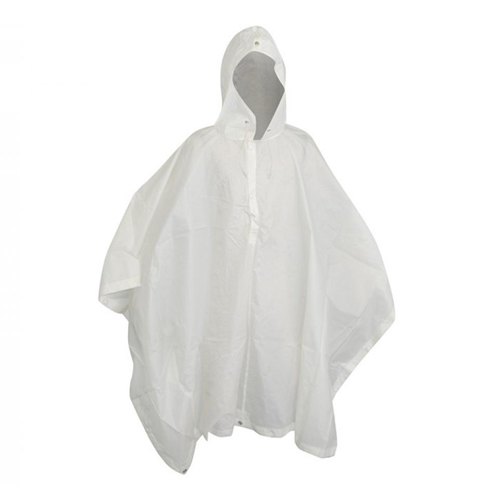 Swiss Army Snow White Rain Poncho