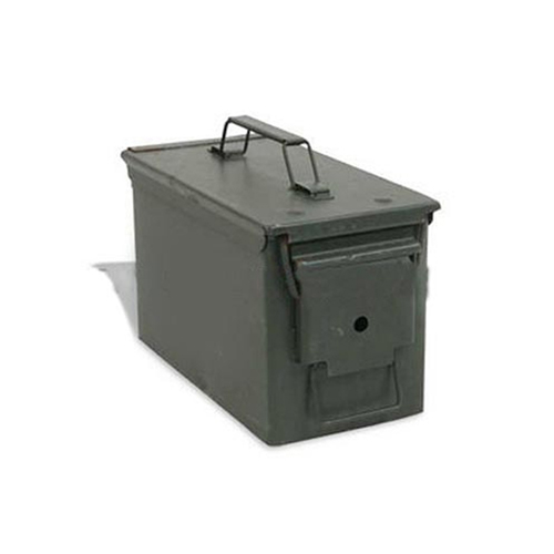 US Military 50 CAL Ammo Can Box