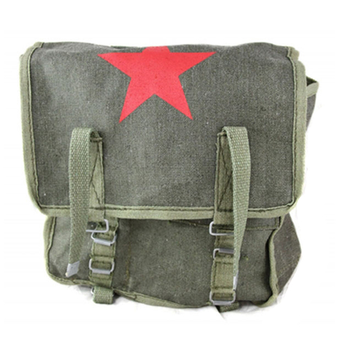 Surplus Russian Bread Bag with Star