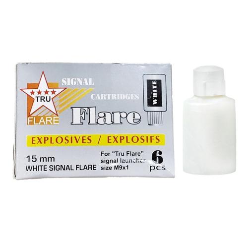 Tru Flare White 15mm Signal Flare