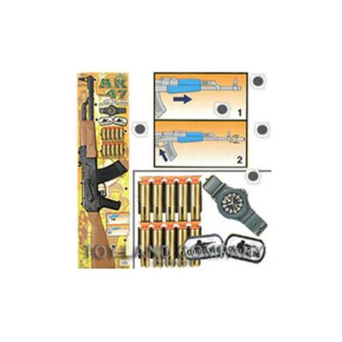 Ak-47 Air Gun W/Safety Bullets