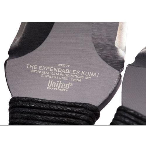 Exclusive Kunai Throwers Black Three Piece Set