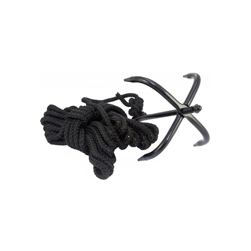 Black Hornet Folding Grappling Ninja Hook