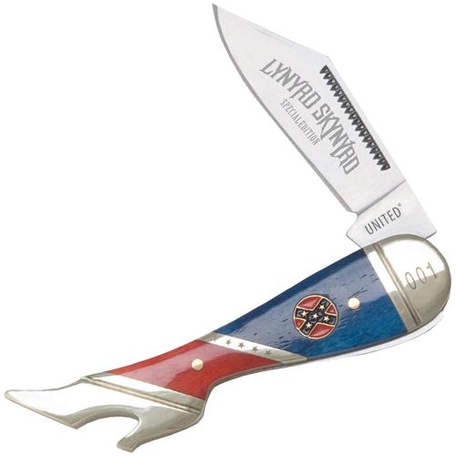 United Cutlery Lynyrd Skynyrd Rebel Rebel Leg Knife With Tin
