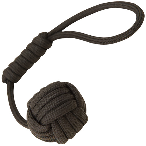 United Cutlery Elite Forces Paracord Monkey Fist Black