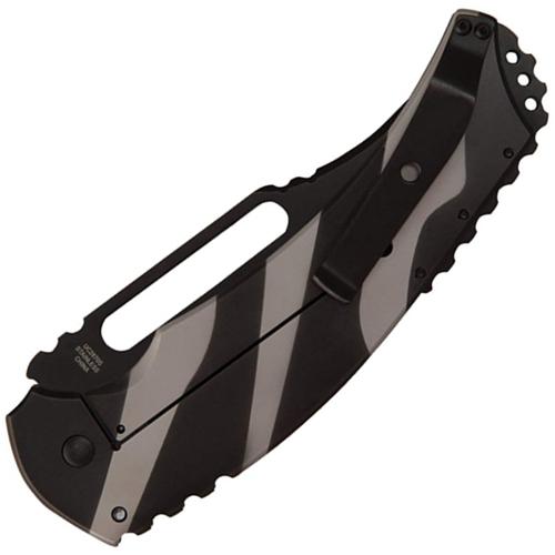 United Cutlery Willumsen Urban Tac Blondie Black Serrated Knife
