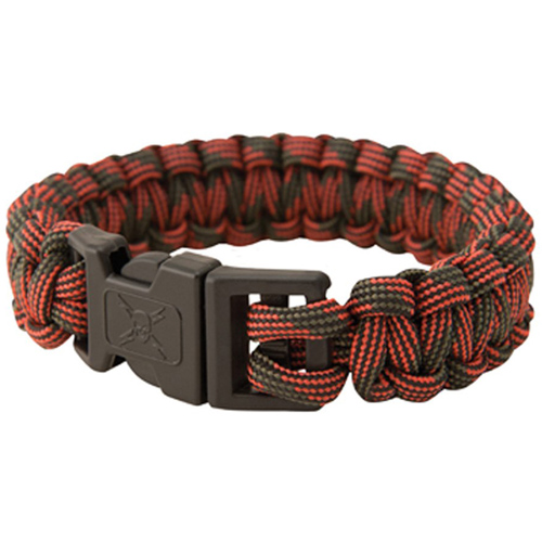 United Cutlery Elite Forces Paracord Red Camo Bracelet