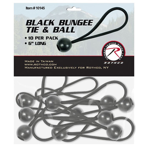 6 Inch Bungee Tie And Ball