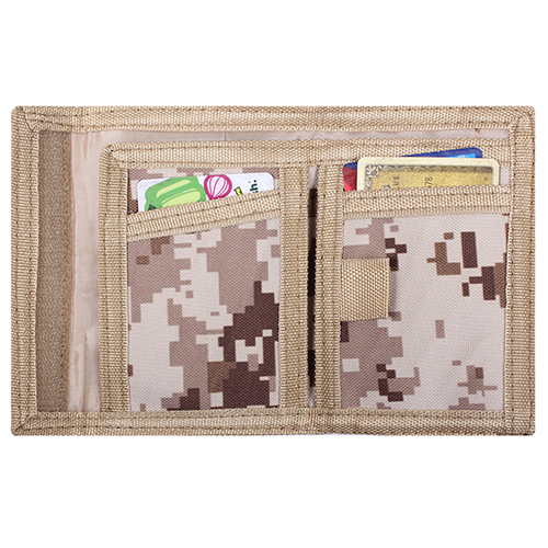 Digital Camo Commando Wallet
