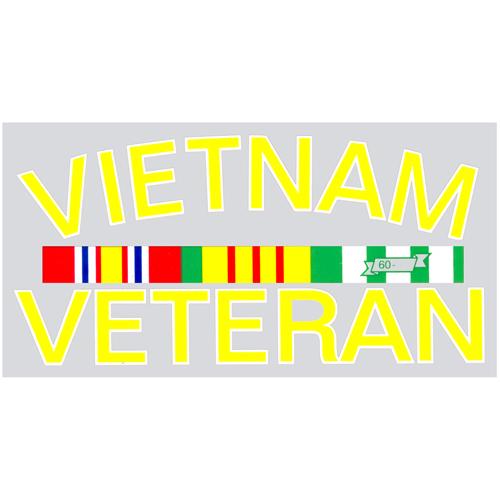 Vietnam Vet Decal