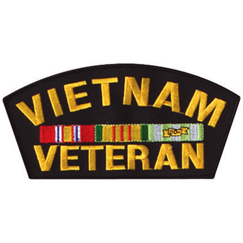 Vietnam Veteran 6 Inch Patch