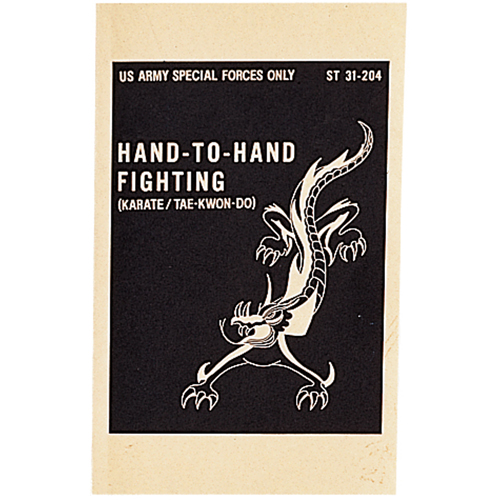 U.S. Army Special Forces Hand-To-Hand Fighting Manual