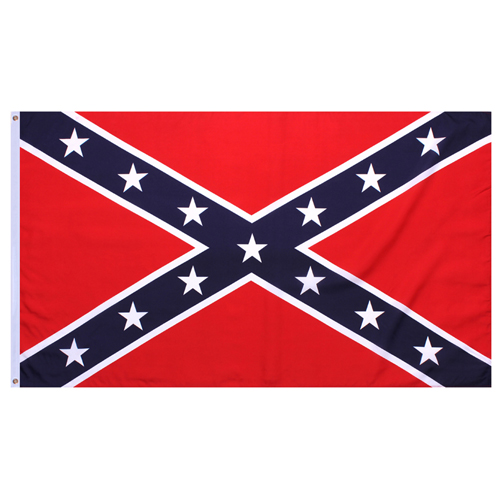 Confederate 2 Inch X 3 Inch Flags