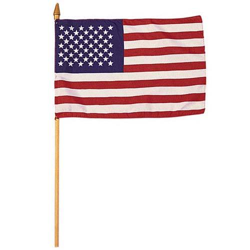 US Flag Mini 4 Inch X 6 Inch American Flag