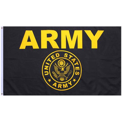 Blackgold Army Flag