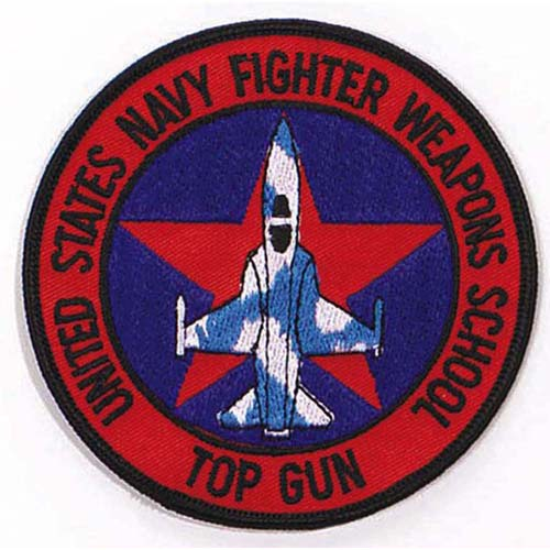 Ultra Force US Fighter School Top Gun 4 Inch Patch