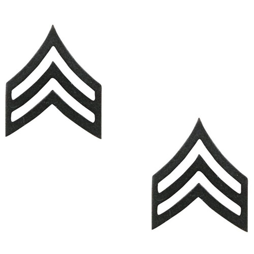 Sergeant Polished Insignia