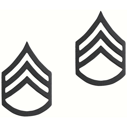 Staff Sergeant Polished Insignia