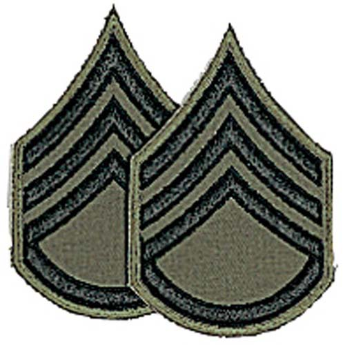 Staff Sergeant Chevron Patch