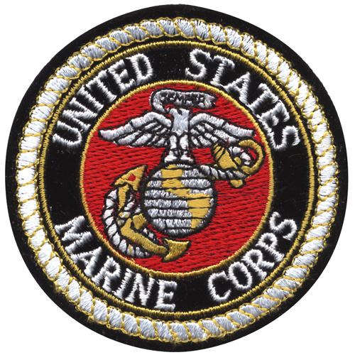 Deluxe USMC Round Patch