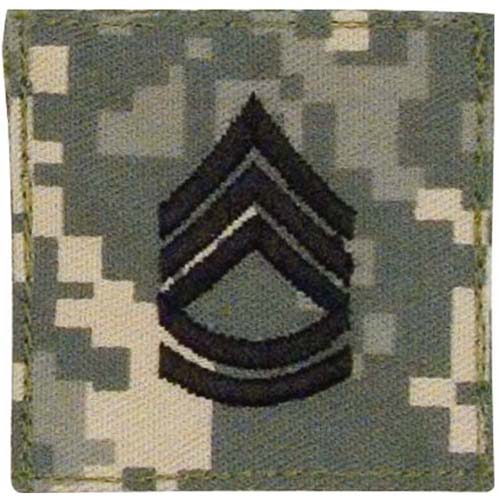 Official U.S. Made Embroidered Rank Sergeant 1St Class Insignia