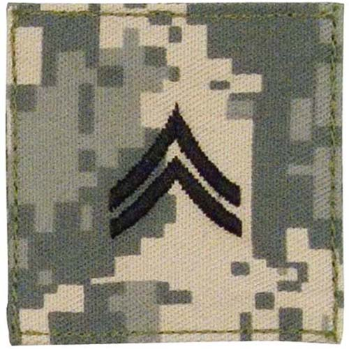 Official U.S. Made Embroidered Rank Corporal Insignia