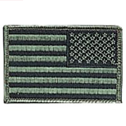 Iron On  Sew On Embroidered US Normal Flag Patch