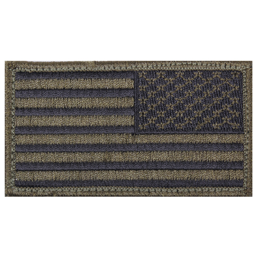 American Reverse Flag Patch