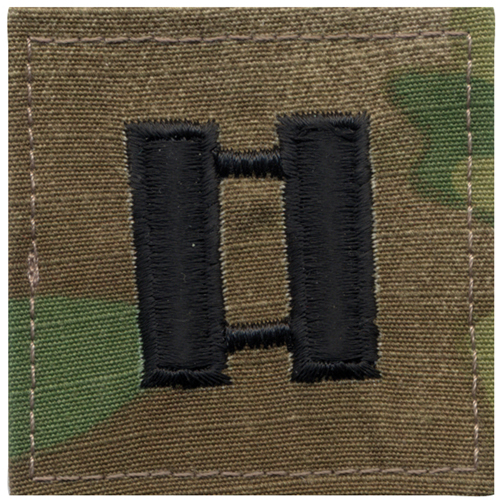 U.S. Made Embroidered Rank Insignia - Captain Insignia