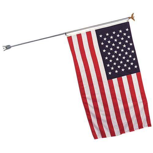 Flag Pole With Bracket