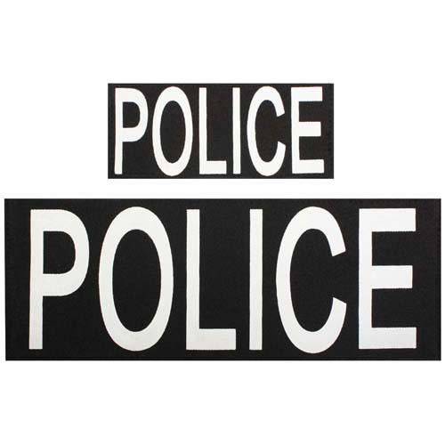 Police 2 Pcs Patch Set