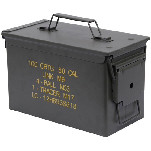 Mil-Spec .50 Caliber Ammo Can