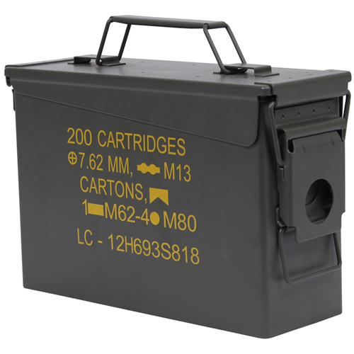 Mil-Spec .30 Caliber Ammo Can