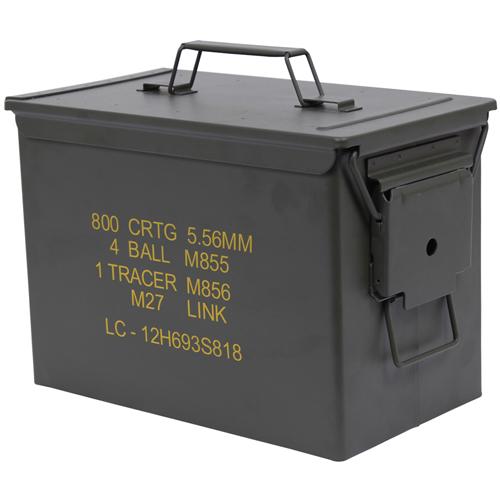 Mil-Spec .50 Caliber Fat Ammo Cans
