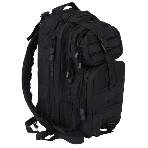 Convertible Medium Black Transport Pack
